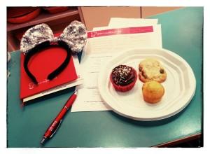 Clase de galletas, cupcakes y pastas de té