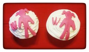 Women's cupcakes