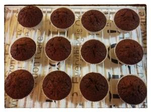 12. Cupcakes enfriando