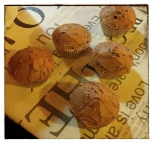 14. Cupcake cubiertos con una base de frosting