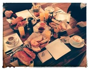 La Rollerie's Breakfast