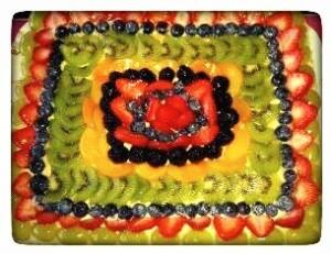 Crostata de fruta - crostata di frutta
