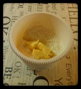 2. Añadir margarina - aggiungere la margarina
