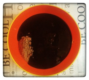 7. Mezclar chocolate y galletas - mischiare il cioccolato ai biscotti