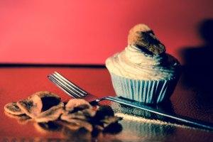 Cupcake de platano - Cupcake alla banana