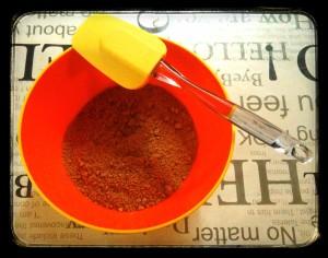 3. Mezclar galletas y mantequilla - mischiare i biscotti e il burro
