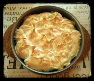 Pie de limon - lemon meringue pie