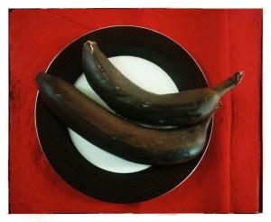 2. Plátanos cocinados - banane cucinate al forno