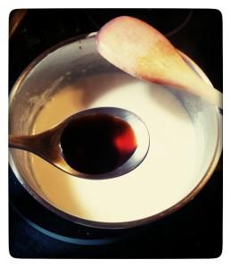 4. Añadir vainilla - aggiungere la vaniglia