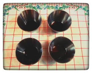 9. Moldes con caramelo - formine con il caramello