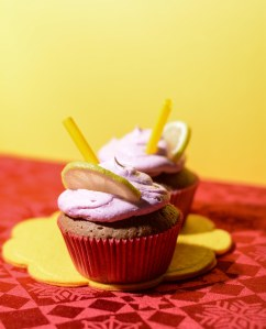Cupcakes de sangria - cupcakes alla sangria