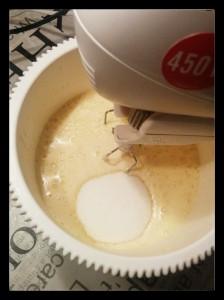 5. Agregar el azucar - aggiungere lo zucchero