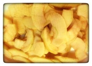 2. Manzanas peladas - spicchi di mele