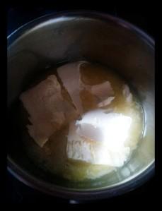 1. Derretir la mantequilla - sciogliere il burro