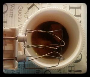 3. Mezclar mantequilla y azúcar - mischiare burro e zucchero