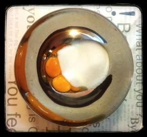 3. Yemas y azucar - tuorli e zucchero
