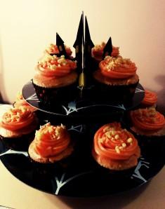 Cupcakes de calabaza - Cupcakes alla zucca