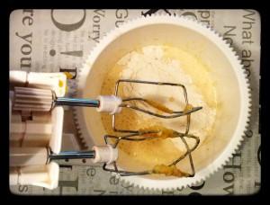 8. Añadir la harina - aggiungere la farina