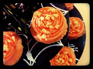 Cupcake de calabaza - Cupcake alla zucca