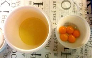 Separar los huevos - separare le uova