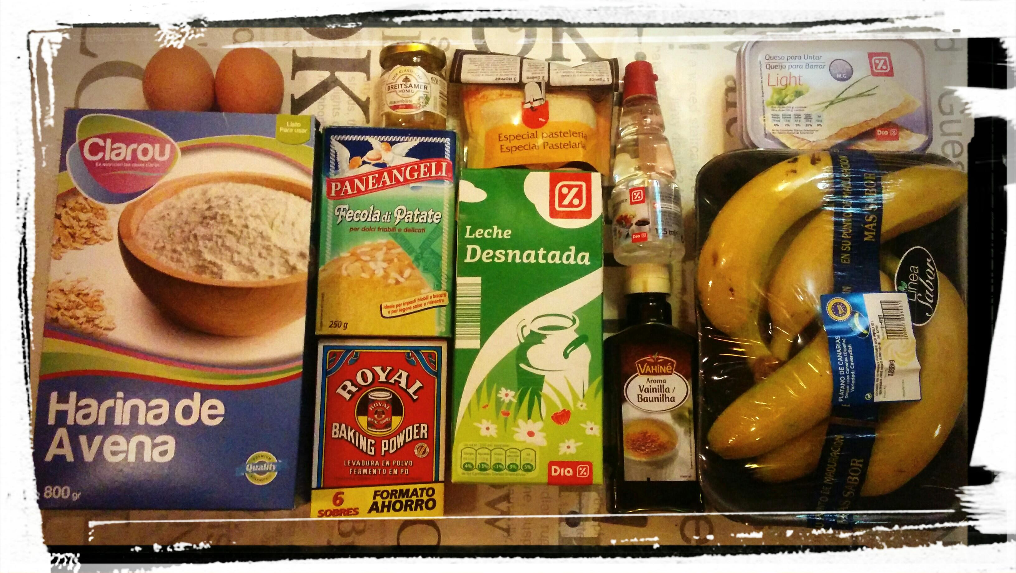 Cupcake de platano y harina de avena cupcake alla banana for Cocinar a 80 grados