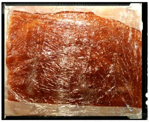 12. Cubrir con azúcar y envolver con papel de plástico - ricoprire di zucchero e avvolgere nella pellicola