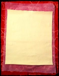 2. Desenvolver la masa - srotolare la lamina