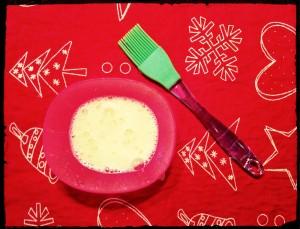 9. Batir el huevo - sbattere l'uovo