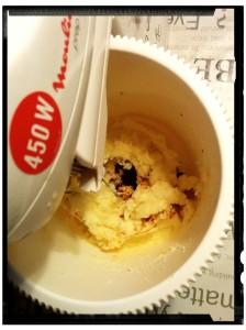 4. Añadir la vainilla - aggiungere la vaniglia