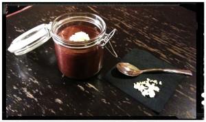 Mousse de chocolate con chía - Mousse al cioccolato con chía