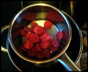 4. Fundir el chocolate al baño maria - sciogliere il cioccolato a bagno maria