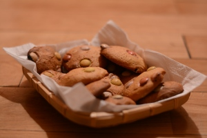 Galletas de lacasitos - Smarties cookies