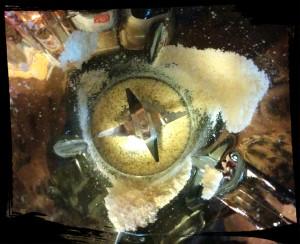 4. Triturar las almendras - triturare le mandorle
