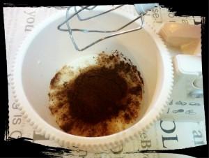 4. Agregar el cacao - aggiungere il cacao