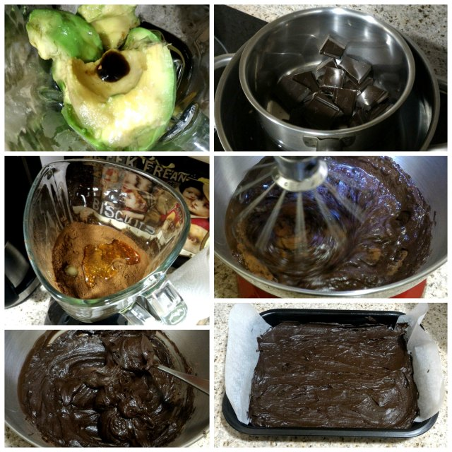 collage brownie